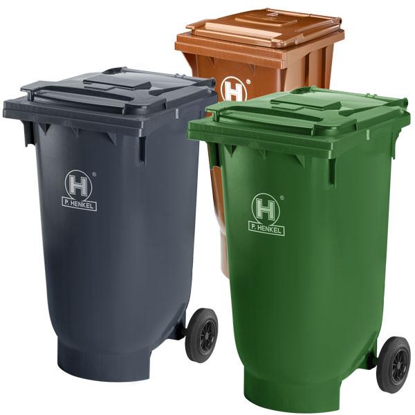 Pojemniki na odpady, dwukołowe