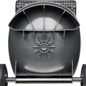 Pojemnik na odpady z okrągłym dnem
